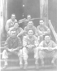 Soldiers G/253d Infantry Cp Van Dorn MS 1944