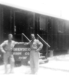 Daly and DeSalle, A/254th Inf Jul 44
