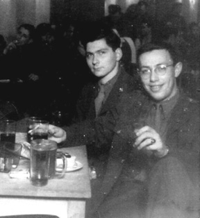 Pfc Harry Stopek, (Med Det 253d Inf Regt veteran) in Berlin 1946