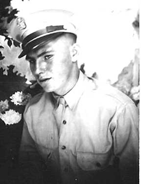 Pfc James Gregg, I/253d Inf Cp Van Dorn MS 1944