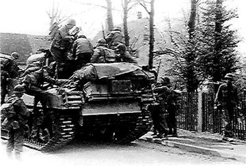 Tank/Infantry team