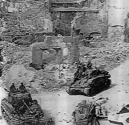 Bitche, France 1945