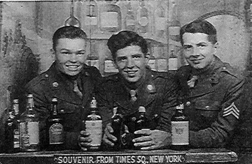 Members I/253d Inf Regt NY City 1944