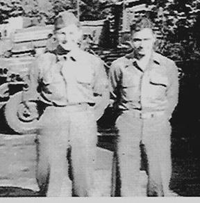 Members I Company 253d Inf Regt-Wertheim, Germany 1945