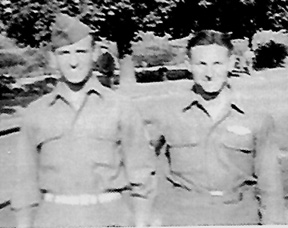 Ahearn and Patterson.  I/253d Inf Regt Germany 1945