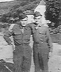 Grice and Driemeyer I/253d Inf Regt Germany 1945