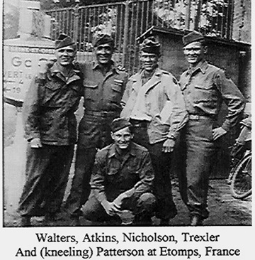 Members I/253d Inf Regt Germany 1945