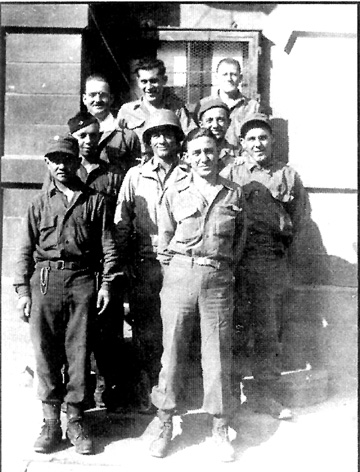 Kitchen Crew, Hq 1st Bn 253d Inf Regt, Germany May 1945