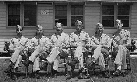 Hq 254th Inf Regt Staff- Jun 43