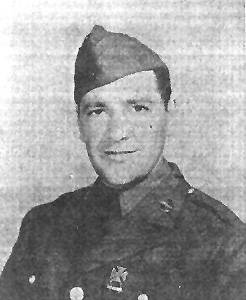 Pfc Irving, C/254th Inf Regt Cp Van Dorn, MS