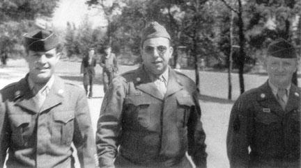 Pileggi, D/254 Inf Regt in Berlin with OMGUS 1945