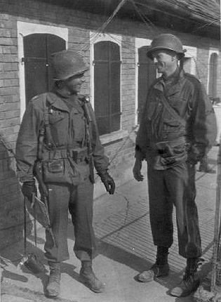 Capt Bailey, Hq 254th Inf Regt in Germany 1945