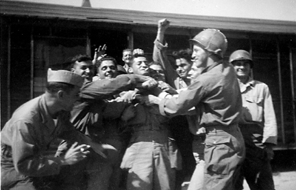 Soldiers of C/254th Infantry Regiment, Cp Van Dorn, MS 1944