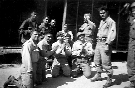 Soldiers C/254th Inf Regt Cp Van Dorn, MS