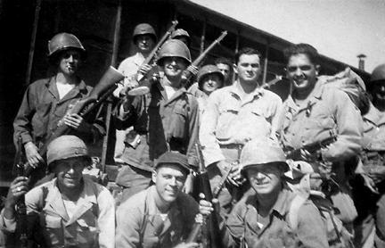 Soldiers C/254th Inf Regt Cp Van Dorn, MS 1944
