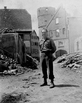 Flaig, C/254th Inf Regt Niederstetten Germany June 1945
