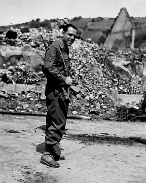 Flaig, C Co 254th Inf Regt Niederstetten Germany Jun 45