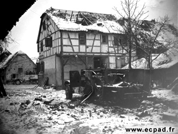 Jebsheim, France Jan 1945