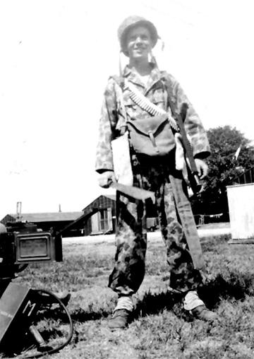 Kogler, M/25th Inf Regt Cp Van Dorn, MS 1944
