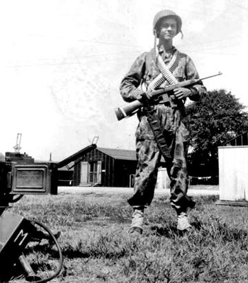 Moffett M/254th Inf Regt Cp Van Dorn, MS 1944