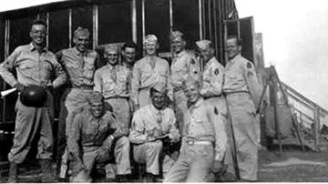 M Co 254th Inf Regt, Cp Van Dorn, MS 1944