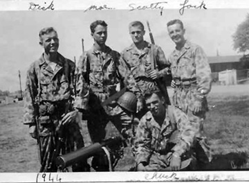 M Co 254th Inf Regt Cp Van Dorn, MS 1944