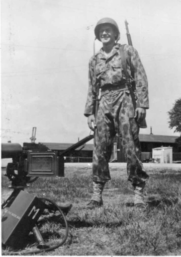 Sgt Wayne Scott M/254th Inf Cp Van Dorn, MS 1944