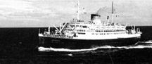Troop ship Saturnia