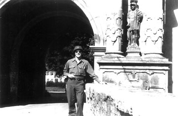 Froeckman, Hq 63d Inf Div Bad Mergentheim, Germany 1945