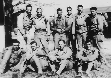 I&R Platoon, Hq 1st Bn 255th Inf Regt, Cp Van Dorn, MS Dec 1943