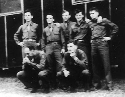 Hq 1st Bn 255th Inf Regt Cp Van Dorn, MS Feb 44