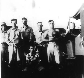 Hq 1st Bn 255th Inf Regt enroute Cp Van Dorn MS 1943