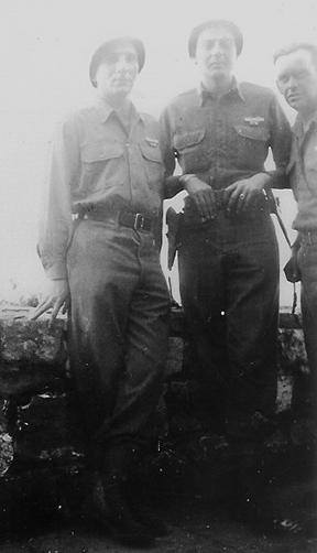 Hq 1st Bn 255th Inf Regt, Bad Wimpfem, Germany 1945