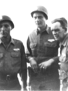Hq 1st Bn 255th Inf Regt- Bad Wimpfem, Germany 1945
