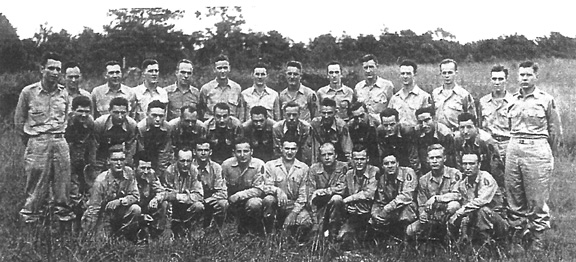 Personnel Section 255th Inf Regt Cp Van Dorn, MS 1944