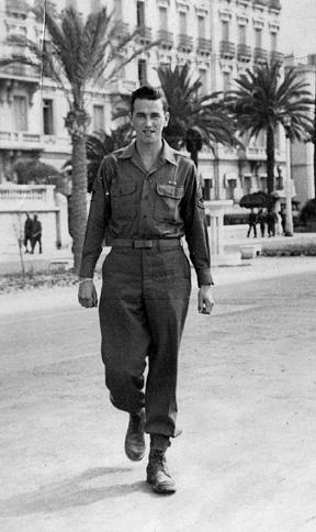 Kilbride E/255th Inf Regt Nice France 1945