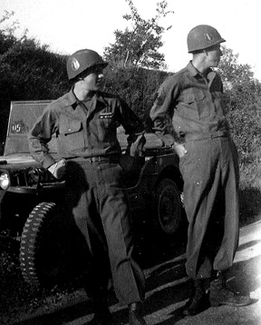E/255th Inf Regt Germany 1945
