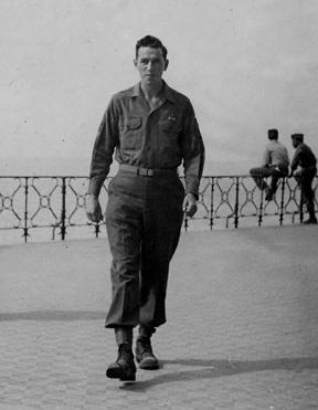 Kilbride, E/255th Inf Nice France 1945