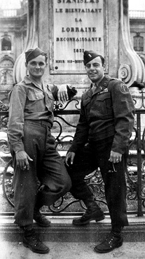 E/255th Inf Regt Nancy France 1945