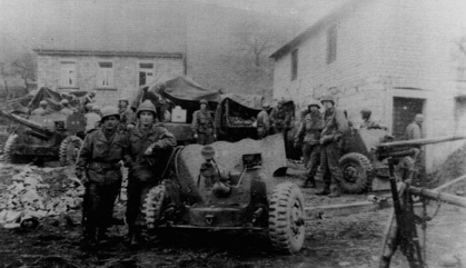 AT/255th Infantry Regiment, Germany 1945