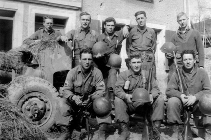 AT Co 255th Infantry Regiment, Germany 1945