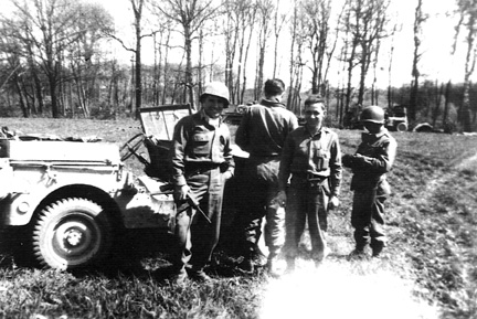 Antitank Co, 255th Infantry Regiment, Germany 1945