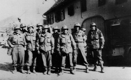 Combat Medics, 255th Infantry Regiment Germany 1945