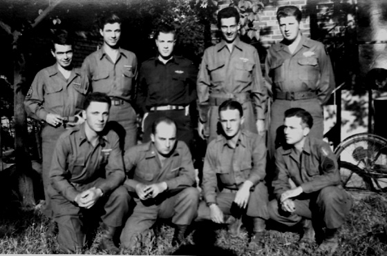Lt Smith and others 255th Inf Regt Germany 1945