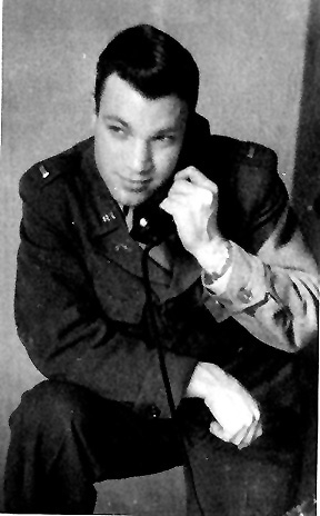 1st Lt Smith, 255th Inf Regt, Germany 1945