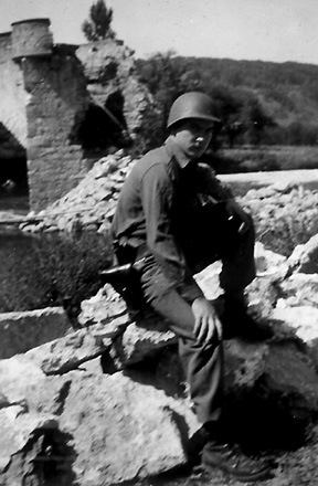 Joel Paris- AT/255th Inf Regt Germany 1945