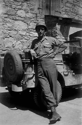 T/5 Warakomsky, AT/255th Inf Regt Germany 1945