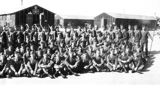 B Com[any 263d Engr Combat Battalion Cp Van Dorn, MS 1944