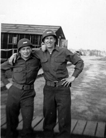 Harmon and Kieffer B/363d Medical Bn, Cp Van Dorn, MS