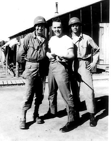 Nenbers of B/363d Med Bn Cp Van Dorn, MS 1943